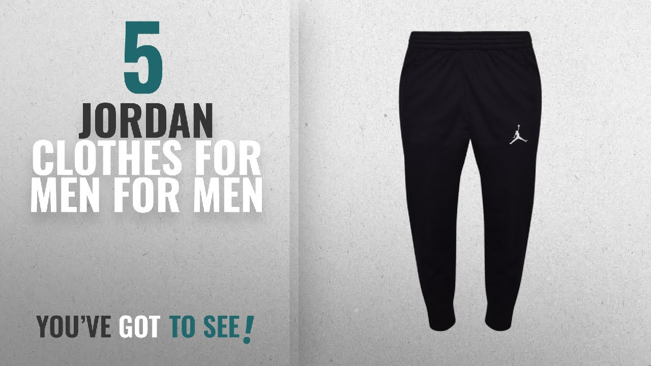 07410c4ecf248b Top 10 Jordan Clothes For Men  2018    Nike Men s Jordan Flight Basketball  Ribbed Cuff Sweatpants