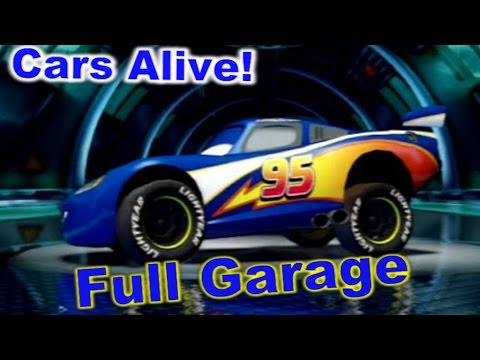 cars 2 the video game full garage all dlc cars and all. Black Bedroom Furniture Sets. Home Design Ideas