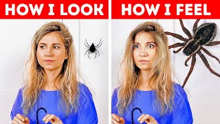 WE BET YOU'RE AFRAID OF THESE || FUNNY STRUGGLES WE ALL FACE