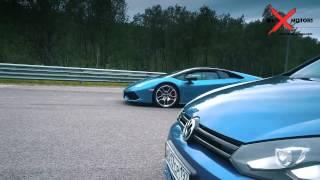 700 HP VW Golf R HGP vs Lamborghini Huracan
