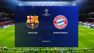 This video is the gameplay of barcelona vs bayern munich - ucl 14 aug 2020 if you want to support on patreon https://www.patreon.com/pesme suggested videos 1...