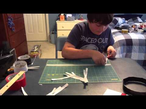 How to make a duct tape indoor basketball hoop youtube for How to build a basketball goal