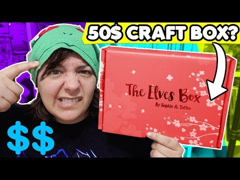 IS A 50$ CRAFT BOX WORTH IT? DIY Craft Subscription box value comparison by Sophie & Toffee