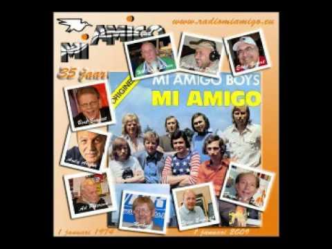 het allereerste uur van radio mi amigo  1 januari 1974