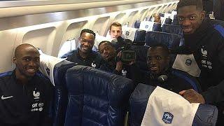 L'Equipe de France est à Lens pour France - Côte d'Ivoire
