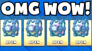Clash Royale ALL LEGENDARY CHEST OPENING (GUARANTEED LEGENDARY CARDS!) NEW UPDATE CHEST GAMEPLAY