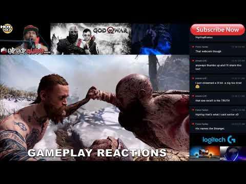 GOD OF WAR REVIEW REACTION | HipHopGamer