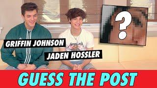 Griffin Johnson vs. Jaden Hossler - Guess The Post