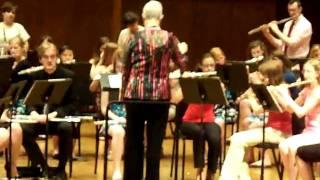 Pretty Saro Flute Choir