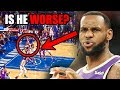 Download Has LeBron James Gotten WORSE? (Ft. Some Layups, Lakers, NBA Defense, and Old Highlights)