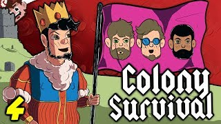 BETRAYAL IN THE COLONY! | CAN'T TRUST CHILLED! (COLONY SURVIVAL - Derp Crew Edition)