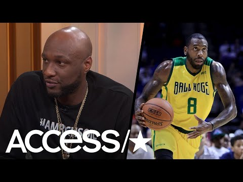 Lamar Odom Gets Emotional Talking About Rasual Butler's Tragic Death | Access