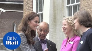 Kate Middleton arrives at the Foundling Museum