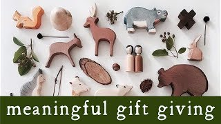Meaningful Gifts - Children's gift guide 2018   Montessori   Waldorf   open ended