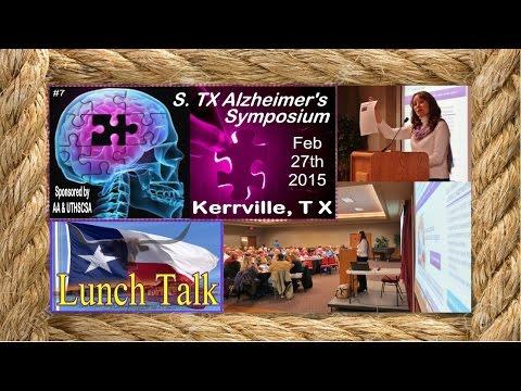 SA STGEC: AD Rural Talk | Kerrville--Alz. Assoc. Overview (2015)