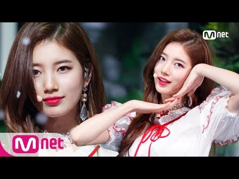SUZY - HOLIDAY Comeback Stage  M COUNTDOWN 180201 EP556