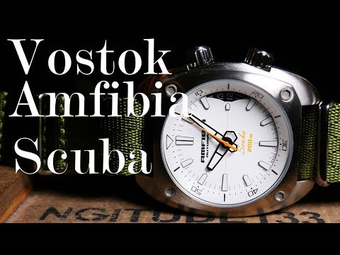 That's Amfibia With An F : Vostok Amfibia Scuba Review