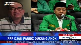 PPP Djan Faridz Dukung Ahok, Ini Kata Ruhut Sitompul