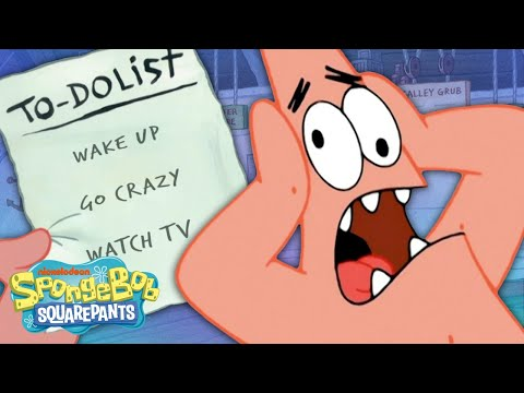 An Entire Day With PATRICK STAR, Hour By Hour! ☀️ A Day In The Life