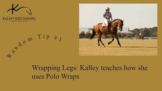 How to Wrap Legs (This time Function follows Form!)