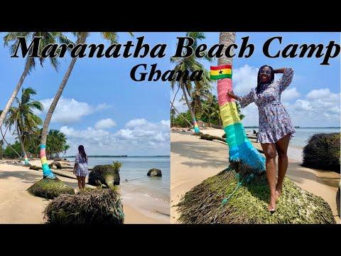 Day Trip to Maranatha Beach Camp Ada Ghana || View of Estuary