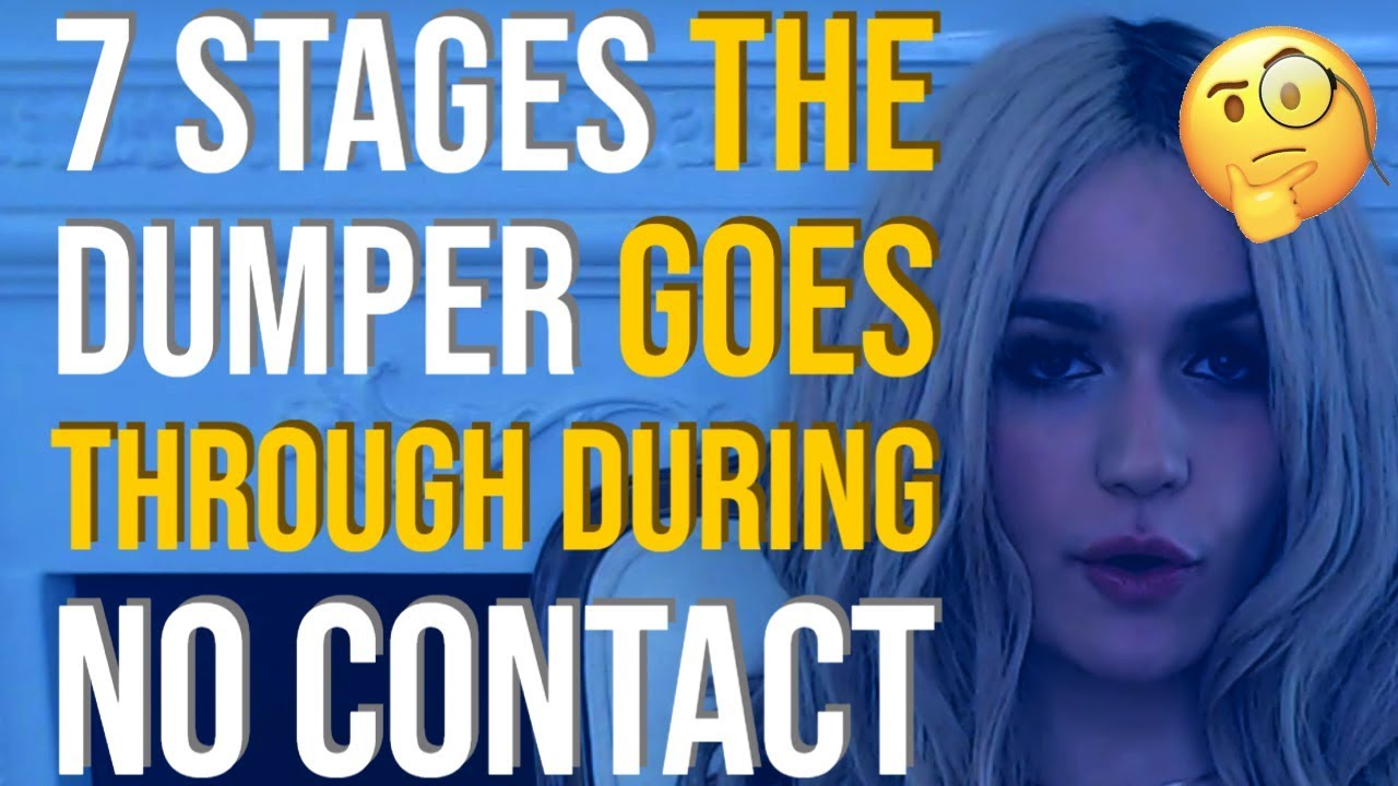 Psychology of no contact on dumper