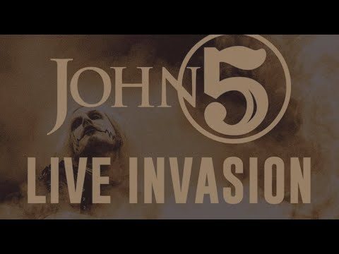 "ROB ZOMBIE's John 5 new live album ""Live Invasion"" + teaser released ..!"