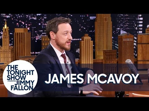 James McAvoy Watched Wanted in Jennifer Lawrence's PAW Patrol Sleeping Bag