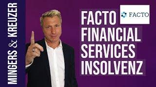 Facto Financial Services AG hat Insolvenz angemeldet | #MingersBrennpunkt (2018)