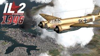Full IL-2 1946 mission: Ju-88 Malta Raid