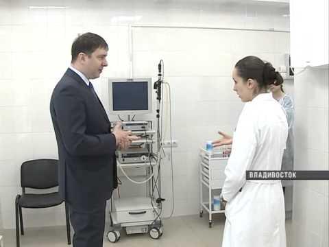 В больницы Приморья поступает новое оборудование