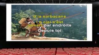 Karaoké- Francis Cabrel - Sarbacane