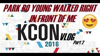 kcon ny 2016 vlog part 2   park bo young tho