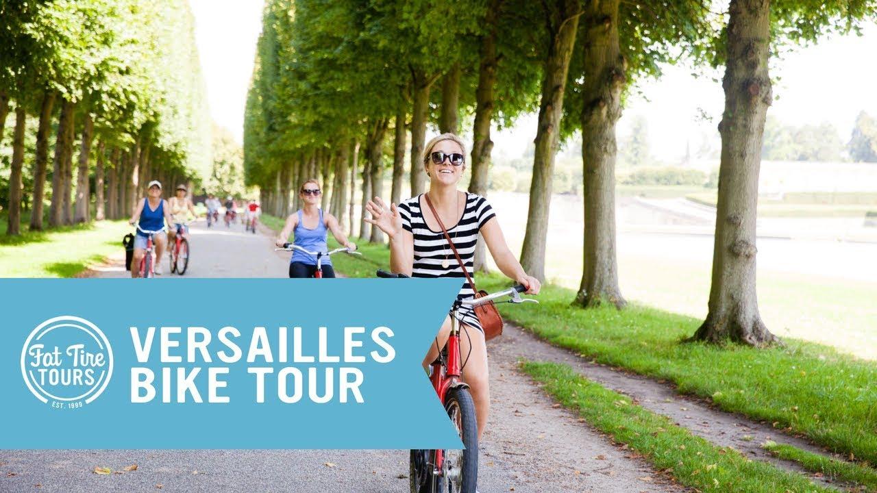 Versailles Bike Tour Guided Paris