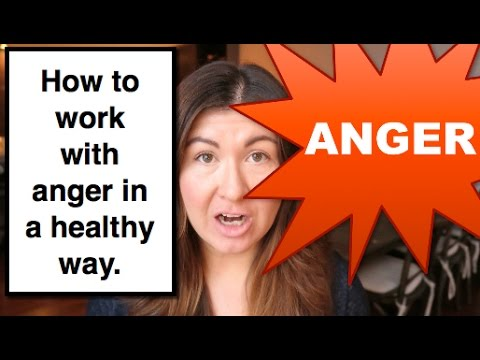 How to work with anger in a healthy way || EDUCATION + DEMO || IreneLyon
