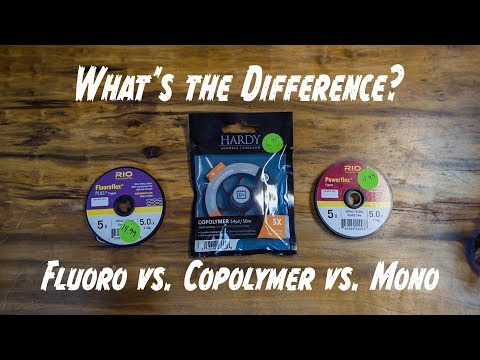 Educated Angler - The Differences In Tippet