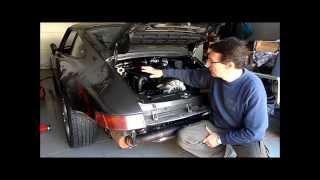 Redémarrage Porsche 911 type 964