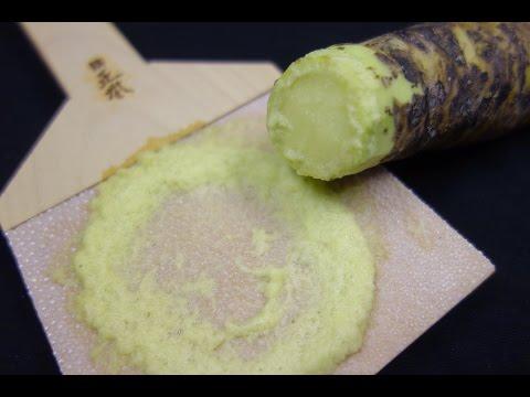 Fresh Wasabi Stem - How To Make Sushi Series