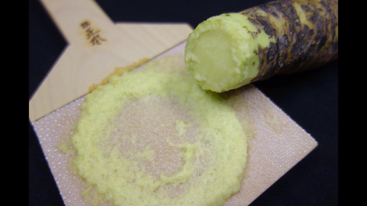 wasabin valmistus