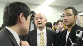 読売新聞記者vs上杉隆氏と岩上安身さん