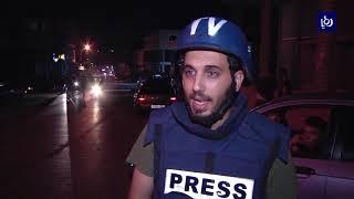 مواجهات عنيفة خلال اقتحام جيش الاحتلال والمستوطنين مدينة نابلس - (27-9-2018)
