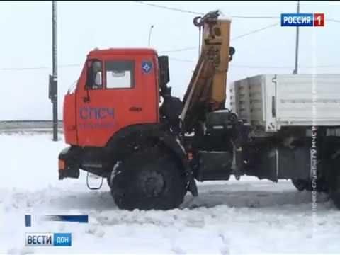 На дорогах «Морозовск-Цимлянск» и «Кашары-Морозовск» введено ограничение движения для транспорта