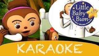 Karaoke: Five Little Monkeys - Instrumental Version With Lyrics Hd From Littlebabybum