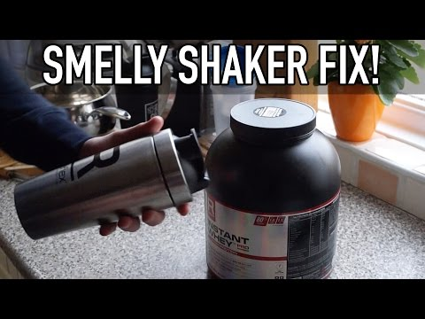 HOW TO STOP SMELLY SHAKER BOTTLES!