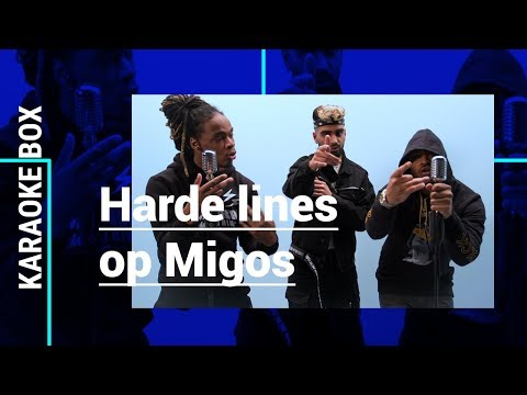 PURI, JHORRMOUNTAIN en ADJE FREESTYLEN op 'Bad and Boujee' van MIGOS & 'Coño' LIVE | Karaoke Box