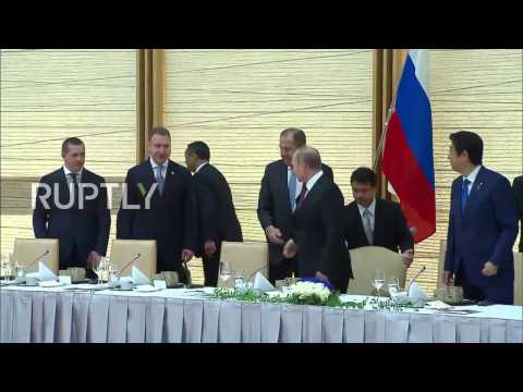 Japan: Possible Russia-Japan peace treaty discussed with Abe - Putin
