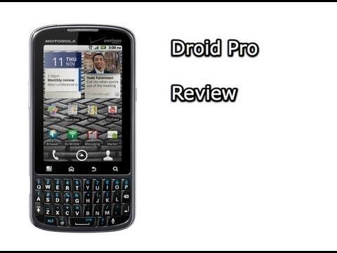 Droid Pro Review