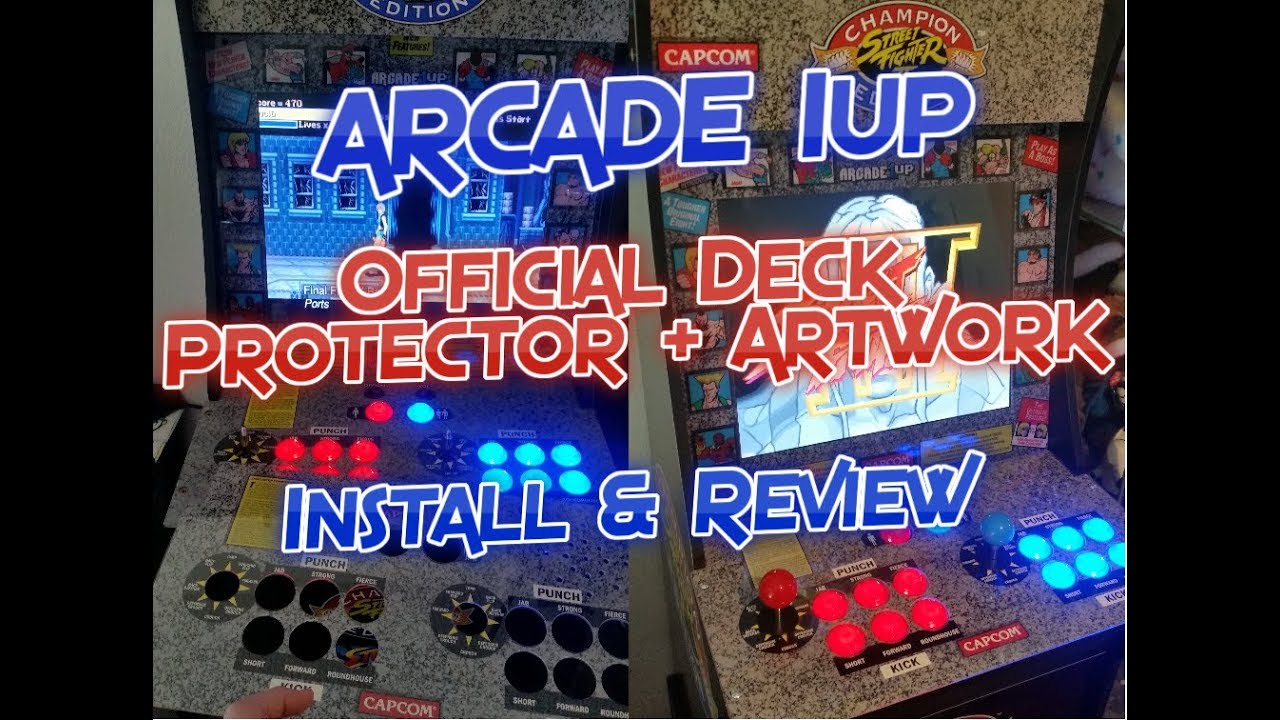 Arcade1up Artwork