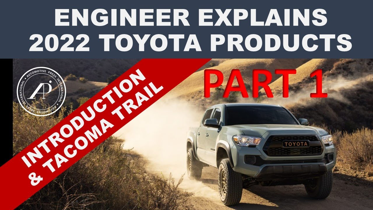 2022 TOYOTA PRODUCT REVEAL PART 1 - Engineer Explains 2022 Toyota Debuts & Tacoma Trail Edition