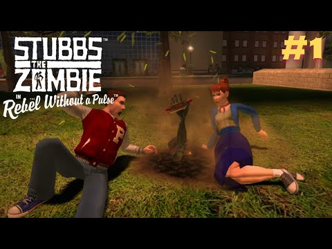 I Stole There Wienie !!!!! Stubbs the Zombie in Rebel Without a Pulse #1 |